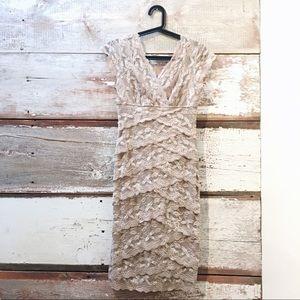 Laura Petites // lace dress